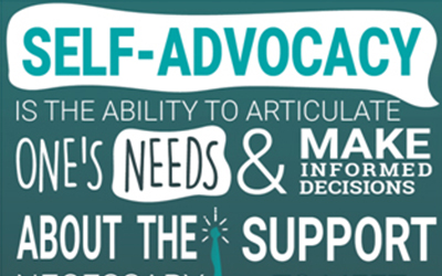 Self-Advocacy is the ability to articulate one's needs and make informed decisions about the support necessary to meet those needs